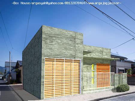 desain rumah kotak kecil ekonomis minimalis argajogjas blog