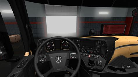the luxury hd interior for actros mp4 v1 3 interior mod ets2 mod