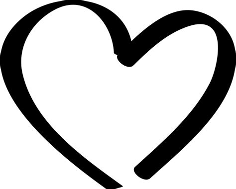 Hearts   free svg image in public domain. Heart Svg Png Icon Free Download (#148200 ...