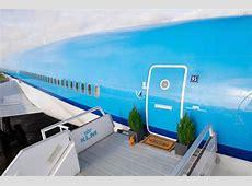 Unter den Wolken Wohnen im Flugzeug DETAIL