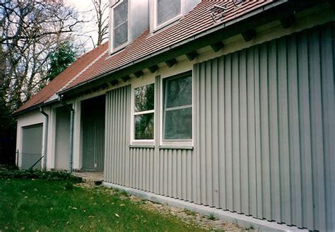 Fassade Günstig Verkleiden by Fassade Mit Blech Verkleiden Blech Fassadenverkleidung