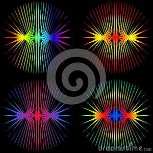 Sound Waves Stock Vector Image