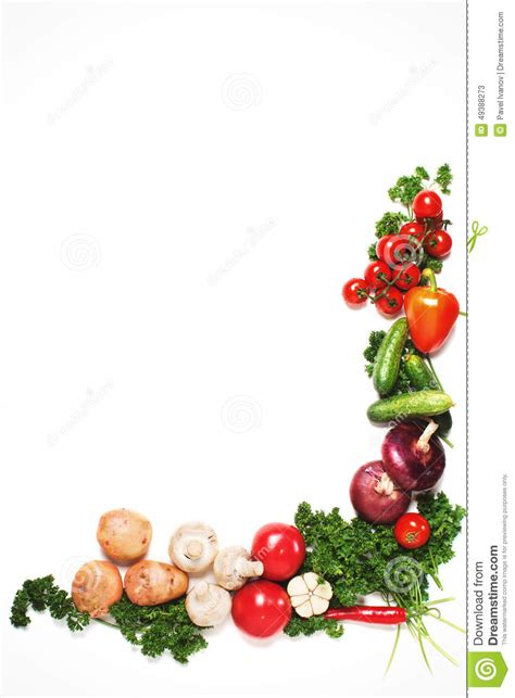 marco vegetal colorido concepto sano de la comida imagen