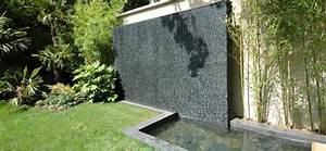 Fontaine Mur D Eau Exterieur : le mur d eau un d cor unique une d tente imm diate ~ Premium-room.com Idées de Décoration