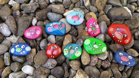 steine bemalen mit acrylfarbe kreavino bunte stein