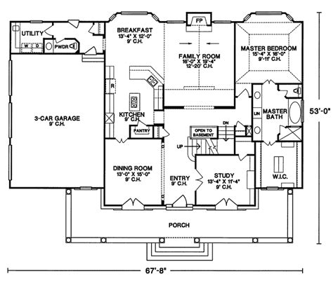 house plans and more hill country ranch s2786l house plans 700
