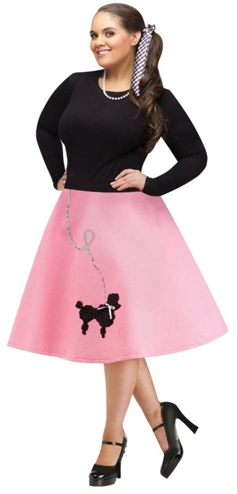 1950s Halloween Poodle Skirt Costumes for Girls