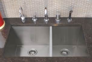 32 quot stainless steel undermount 60 40 bowl zero radius kitchen sink combo ebay