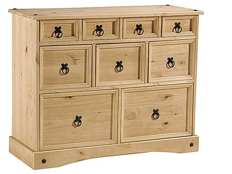 Bedroom Pine Bedsides And Chest Of Drawers Homegenies
