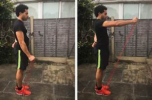 Band Front Raise Exercise Guide
