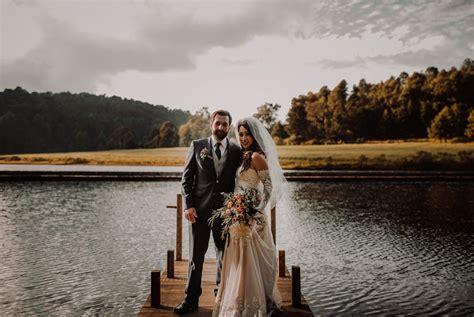 romantic mexican wedding overlooking lake avandaro