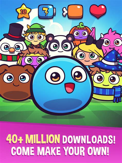 My Boo  Virtual Pet With Mini Games For Kids, Boys And