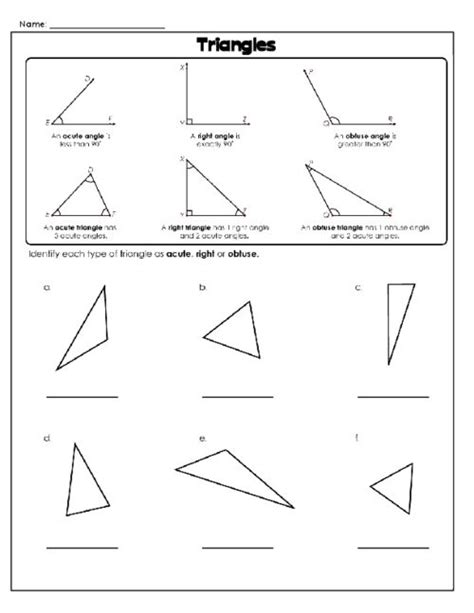 25 best ideas about different types of triangles on
