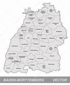 Zaunhöhe Zum Nachbarn Baden Württemberg : mapa b densko w rttembersko stock vektor artalis 39328119 ~ Whattoseeinmadrid.com Haus und Dekorationen