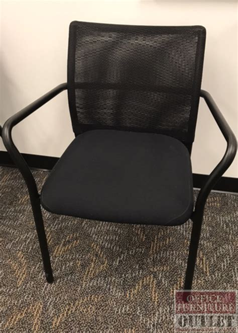 mesh back guest arm chair