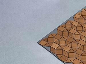 Tapis En Bois : tapis en bois par elisa strozyk akenchi objets design ~ Teatrodelosmanantiales.com Idées de Décoration