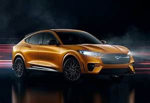 Ford Unveils Cyber Orange Color For 2021 Mustang Mach-E GT