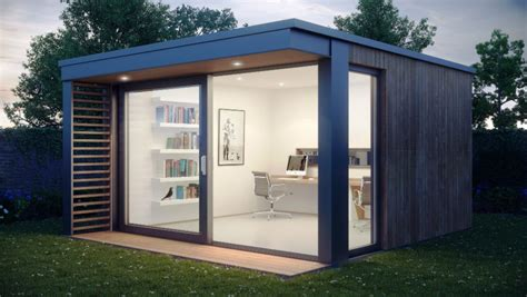 shed office designs 21 modern outdoor home office sheds you wouldn t want to leave