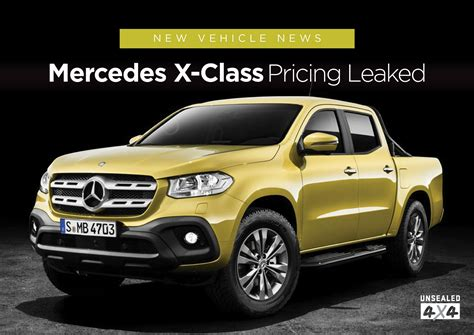 Mercedes X-class Pricing Leaked