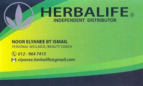 sample  herbalife business card templates