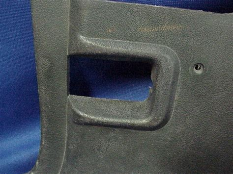 find   mustang green plastic kick panel air vent