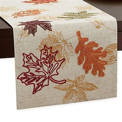Fall Breeze Table Runner   Bed Bath & Beyond