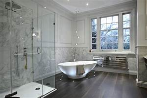 Bathroom contemporary with cluster pendant light