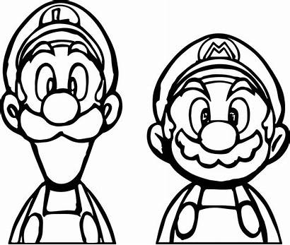 Mario Coloring Pages Halloween Super Draw Printable