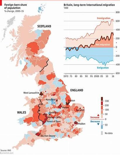 Britain Immigration Migration Economist Number International Lincolnshire