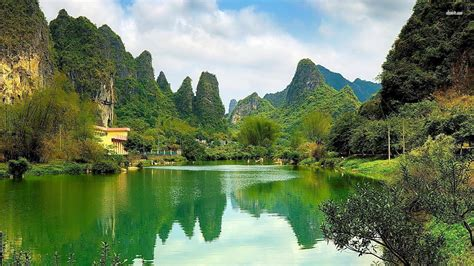 Chinese Nature Wallpapers Wallpaper Cave