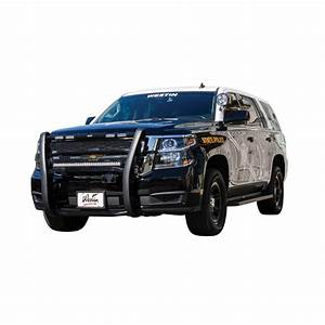 Chevrolet Tahoe Police Lights Westin 36 53805 Push Bumper Elitexd Fits 15 19 Suburban