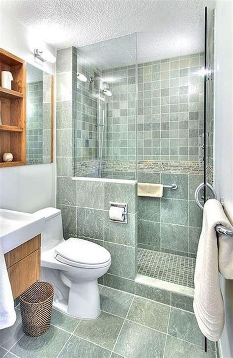 75+ Beautiful Small Bathroom Shower Remodel Ideas Small