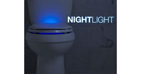 nightlight lighted toilet seats  kohler