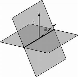 Schnittgerade Zweier Ebenen Berechnen : mathematik online kurs vektorrechnung ebenen schnitt zweier ebenen ~ Themetempest.com Abrechnung