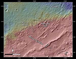 Slopes of Mount Sharp | Mars Image