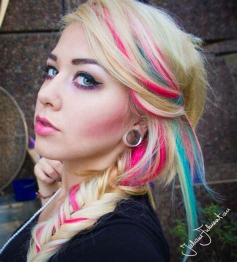 Hair Streaks My Hair And Highlights On Pinterest