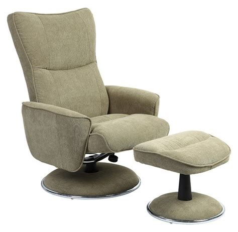 swivel recliner with ottoman avocado fabric swivel recliner with ottoman 838 008 uph