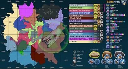 Subnautica Map Resources Sea Emperor Locations Resource