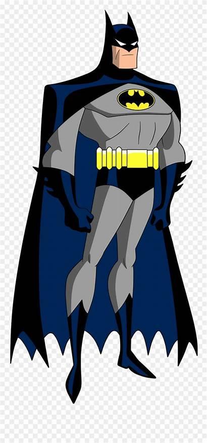 Series Clipart Batman Animated Justice League Dc