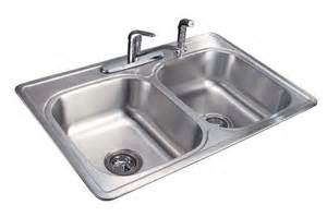 tuscany 7 quot double bowl stainless steel kitchen sink kit at
