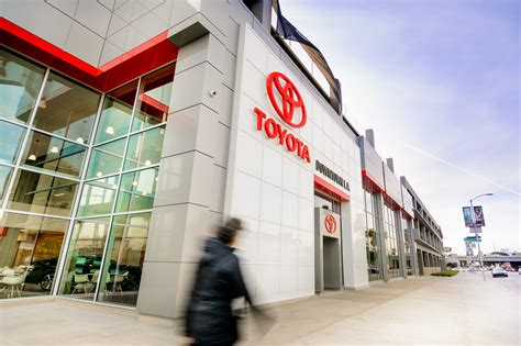 Toyota Downtown La by Toyota Of Downtown Los Angeles Conam Building Co