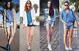 Como Usar Camisa Jeans Feminina Fotos Dicas Modelos