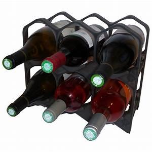 Casier à Bouteilles : drinkcase casiers 6 bouteilles noir lumineux range bouteilles drinkcase sur maginea ~ Teatrodelosmanantiales.com Idées de Décoration