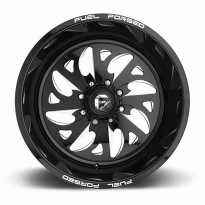Lug Wheels Ff59 Fuel Forged Wheel Milled