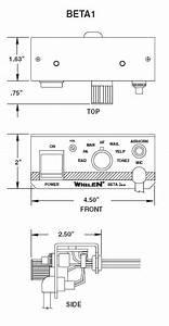 Whelen Beta1 U2122 Remote Siren Amplifier