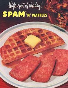 Spam 'N Waffles Recipe | MrBreakfast.com