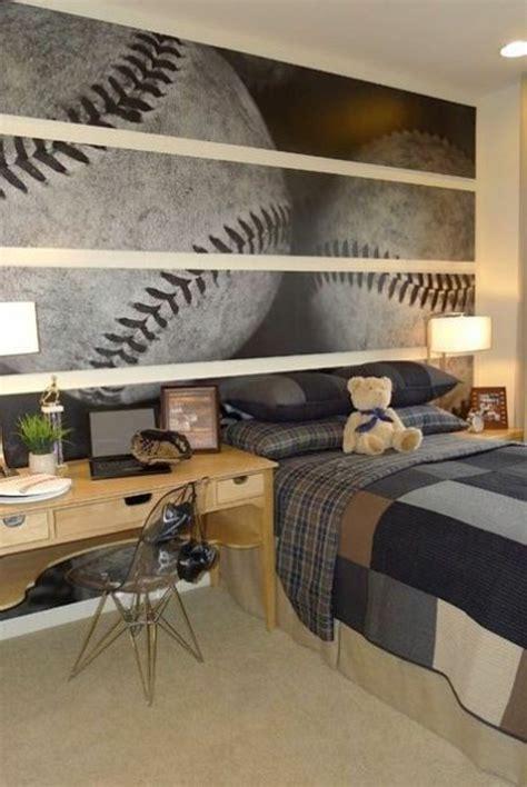 papier peint chambre garcon comment aménager une chambre d 39 ado garçon 55 astuces en