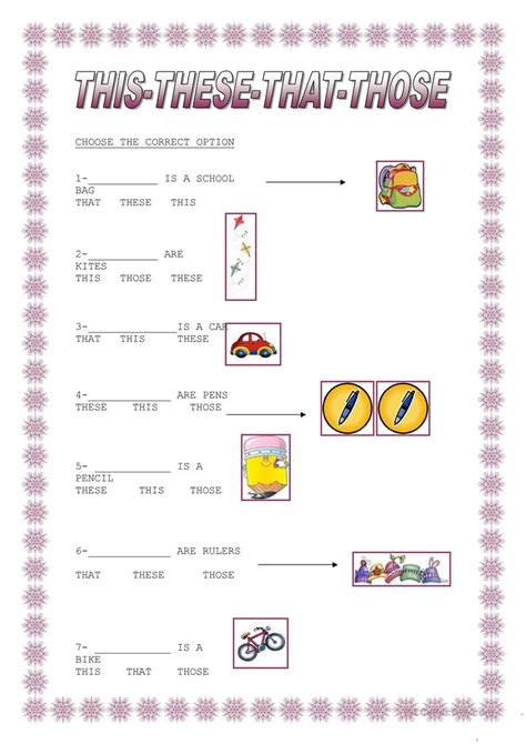 this that these those worksheet free esl printable worksheets made by teachers