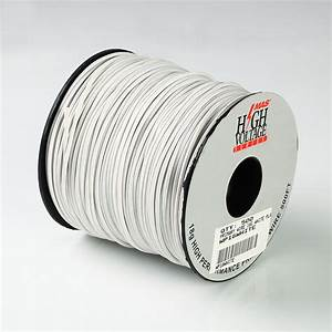 500ft Spool Of White 18 Gauge Awg Primary Wire Home