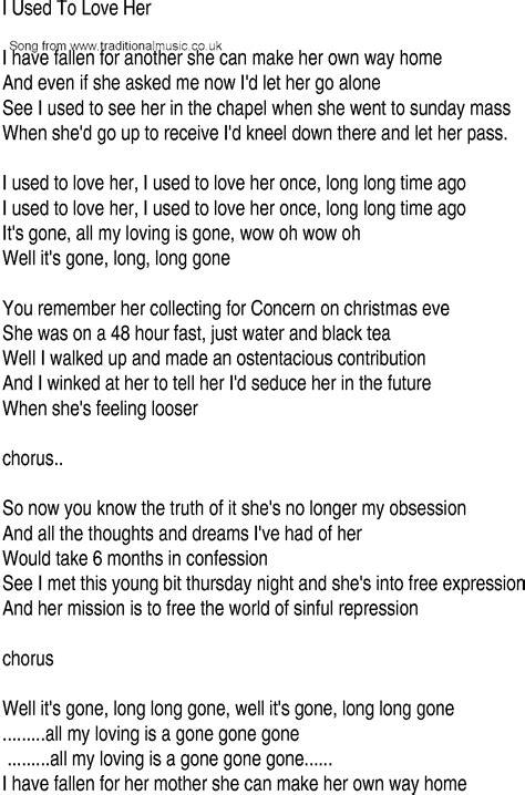 irish  song  ballad lyrics     love